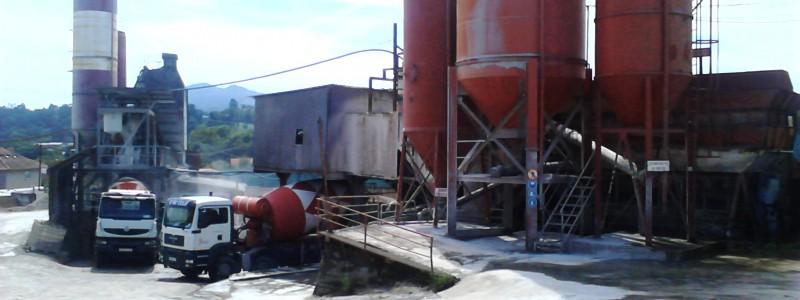 Planta de hormigón en Vigo, Pontevedra - Galicia